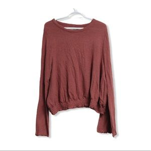 *HP* NWOT Madwell Long Sleeve Cotton Top